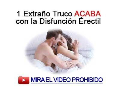 solucion natural para la disfuncion erectil
